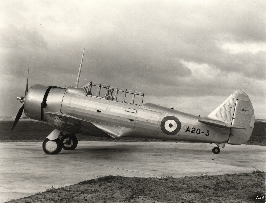 CAC Wirraway Mk I A20-3